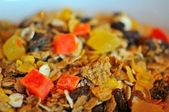 Healthy nutrritious muesli — Stock Photo
