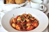Pasta de tomate estilo italiano — Foto de Stock