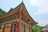 Architettura del tempiale coreano — Foto Stock