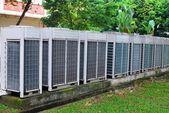 Air conditioner ventilators — Stock Photo