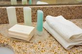 Closeup of spa items — Stock Photo