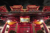 Oriental temple architectural design — Stock Photo