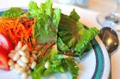 Gros plan de salade fraîche — Photo