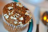 Geïsoleerde muffin — Stockfoto