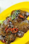 Vegetarische zwarte peper varkensvlees — Stockfoto