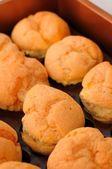 Deliciosos pasteles de crema — Foto de Stock