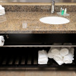 Stock Photo: Cleand tidy wash basin