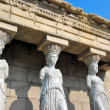 Stock Photo: Female statues of Erechtheion Temple