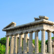 Side view of the Parthenon ruins — Stock Photo