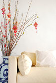 Chinese Lunar New Year decoration — Stock Photo