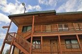 Exterior do motel — Foto Stock
