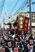 Danjiri festival — Stock Photo