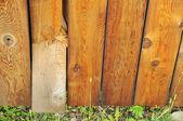 Broken wooden plank — Stock Photo