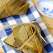Two rice dumplings - Stock Photo