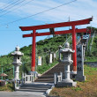 Kabushima shrine in Aomori — Stock Photo