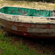 Dilapidated Boat — Photo