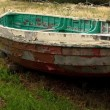 Stock Photo: Dilapidated Boat