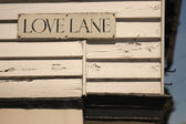 An Alley Called Love Lane — Stock Photo