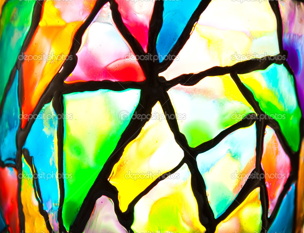 Color Stained Glass  Foto de Stock   #5822871