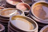 Terracotta colorata ceramica — Foto Stock