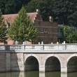 Stock Photo: Bridge of castle d Ursel