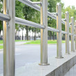 Stock Photo: Steel parapet
