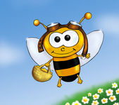 Busy bee — Stock Photo