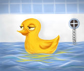 Duckie — Stock Photo