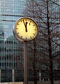 Clock One — Stock Photo