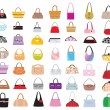 Stock Vector: Bags galore