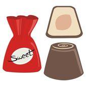 Chocolates — Stock Vector