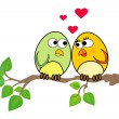 Birdies in love — Stock Photo #5861265