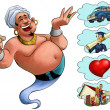 Genie desires — Stock Photo