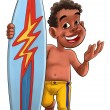 Stock Photo: Surf boy