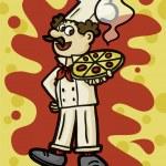 Pizzaiolo — Stock Photo