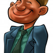 A happy business man — Stock Photo