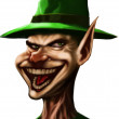 Mad Leprechaun — Foto de Stock