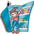 Stock Photo: Refrigerator02