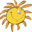 Stock Photo: Happy sun