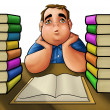 Hard reader — Foto de Stock