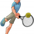 Tennis player — Stock Photo #5818786