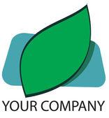 Leaf Logo — Stock Photo