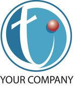 технология логотип — Стоковое фото