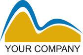 Empresa insignia de rio — Foto de Stock