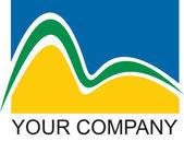 Azienda logo rio — Foto Stock