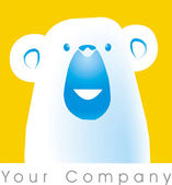 Bear logo — Stock Photo