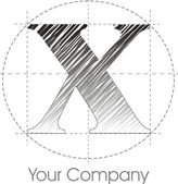 X logo — Stock Photo