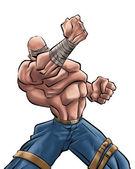 El hombre fuerte — Foto de Stock