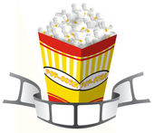 Pop corn tape — Stock Photo