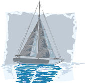 Sailboat — Stock Photo